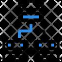 Network Server Architecture Icon