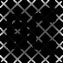 Server Network Dataserver Rack Server Hosting Icon