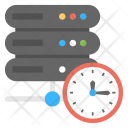 Server Clock Automatic Icon