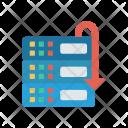 Server Storage Datacenter Icon