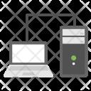 Server Based Hosting Icon