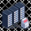 Storage Racks Server Room Severe Binary Storage Icon