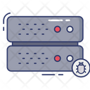 Server Bug Server Database Icon