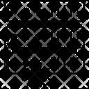 Corrupt Data Database Virus Insecure Data Icon