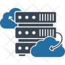 Cloud Computing Cloud Connection Host Icon