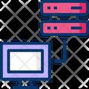 Data Center Server Computer Server Host Icon