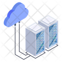 Server Cloud Cloud Computing Cloud Hosting Icon