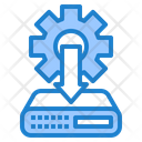 Server Configure Database Configure Config Icon