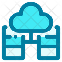 Server Connected Server Cloud Icon