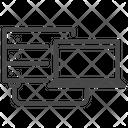 Server Laptop Database Icon