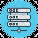 Data Warehouse Storage Supply Icon
