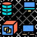 Application Big Data Online Icon