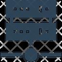 Seo Server Hosting Icon