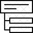 Tree Structure Files Hierarchy Icon