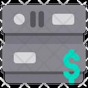 Money Server Money Database Money Icon