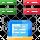 Large Datam Server Data Data Icon