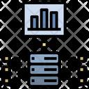 Server Data Analysis Icon