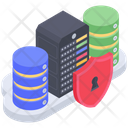 Server Data Protection Server Protection Server Access Icon