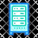 Data Center Server Icon