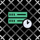 Time Database Development Icon