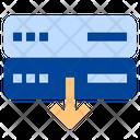 Server Download Storage Download Icon
