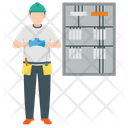 Server Electrician Icon