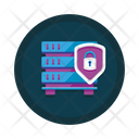Server Encryption Server Protection Data Protection Icon