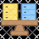 Server Balance Server Equilibrium Dataservers Icon