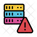 Server Exclamation Warning Icon