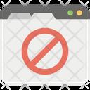 Server Error Web Error Warning Icon