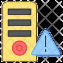Server Error Data Error Server Danger Icon