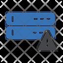 Server Error Database Error Server Warning Icon