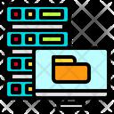 Computer Server Hosting Icon