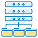 Server Folder Data Base Base Icon