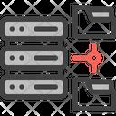 Folders File Database Icon