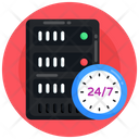 Database History Server History Server Time Icon