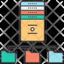 Server Hosting Data Server Data Hosting Icon