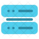 Hosting Storage Cloud Icon