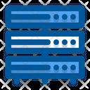 Server Hosting Data Base Hosting Icon