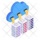 Cloud Servers Cloud Networking Cloud Computing Icon