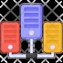 Data Servers Network Server Network Server Hosting Icon