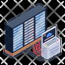 Server Hosting Data Hosting Cloud Hosting Icon