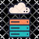 Server Hosting Colud Icon