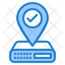 Server Location Database Location Location Icon