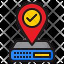 Server Location Icon