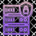 Iserver Lock Server Lock Database Security Icon