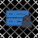 Private Lock Database Icon