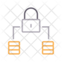 Lock Private Connection Icon
