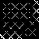Network Database Lock Icon