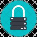 Server Lock Secure Server Server Protection Icon